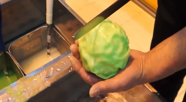 How-Can-He-Make-A-Real-Cabbage-From-These
