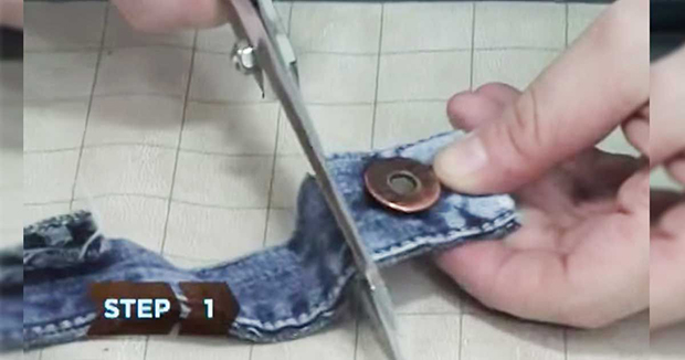 I Saw Her Cut Her Pair Of Old Jeans. What She Ended Up With