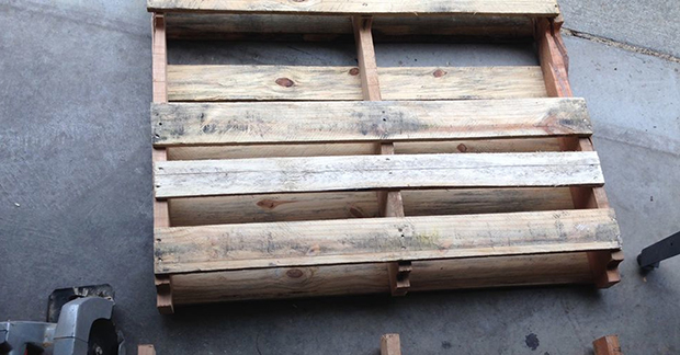 These Wood Pallets Has No Use